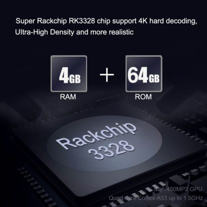 Wechip X88 Max плюс ТВ box Android 9,0 4 GB 64 GB RK3328 пента-Core 2,4G/5G dual Wifi BT V4.0 4 K HD добавить Тип-c медиаплеер USB 2