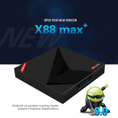 X88 Max Plus 4 Гб ram 64 Гб rom 4 K Smart Android 9,0 tv BOX RK3328 Penta-Core 2,4G/5G Dual Wifi BT type-c медиаплеер приставка 2