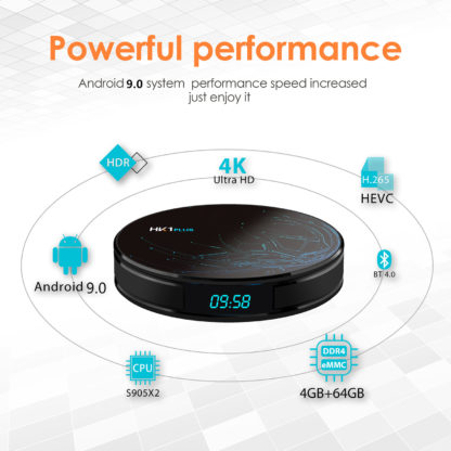 Transpeed Android 9,0 Smart tv BOX Google Assistant S905X2 4G 64G, 4 K Wifi 2,4G & 5,8G медиаплеер Play Store быстрый набор верхней коробки 5