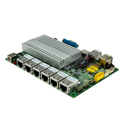 Qotom Mini PC Core i3-6100U i5-6200U процессор Dual core 2.3 GHz 6 LAN pfsense Linux мини пк 3