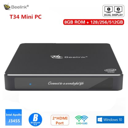 Beelink Gemini T34 Мини ПК Intel Apollo Lake J3455