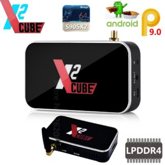 X2 cube X2 PRO Smart Android 9,0 tv Box Amlogic S905X2
